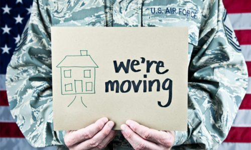 military relocation and short sales